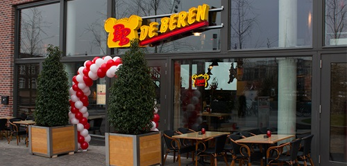 Parkeergarage Eemplein Eetcafé De Beren
